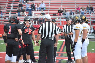 Bluffton South Adams captains