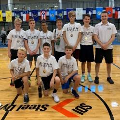 Team Focus Junior Future Division Champions